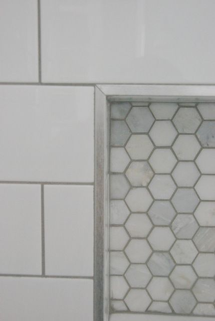 Phenomenal Shower Design Subway Tile And Marble Tile Niche Bathroom Download Free Architecture Designs Scobabritishbridgeorg