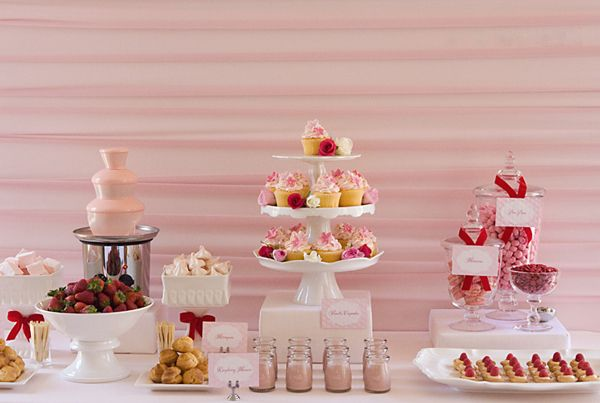 Pink Party Theme Party Food Pink Tea Party Pink Party Theme