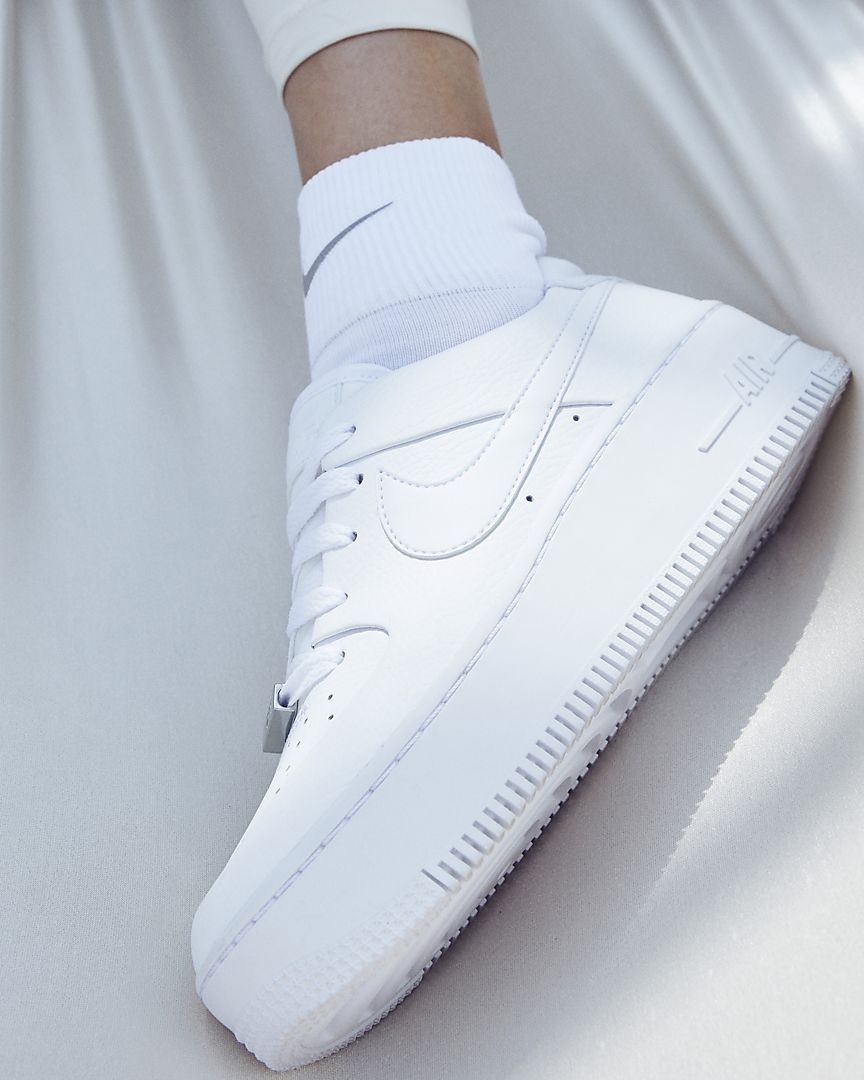 air force 1 donna camoscio
