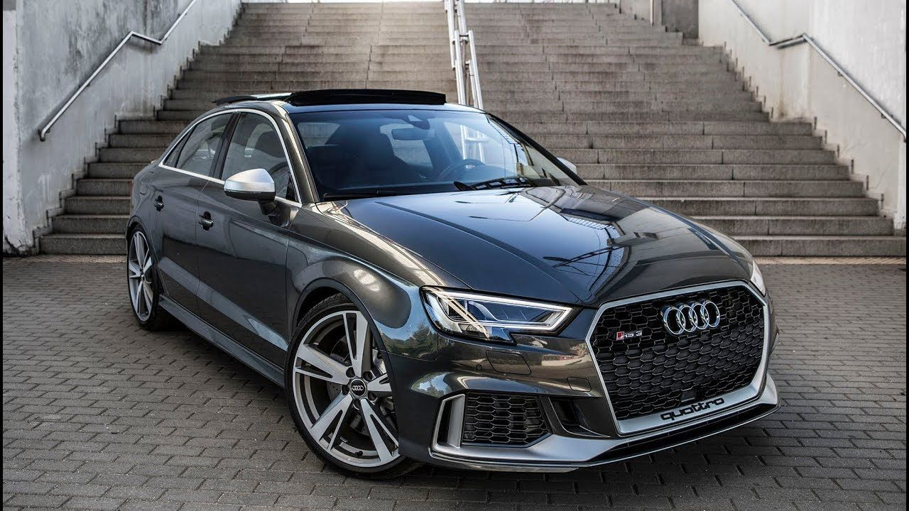 finally 2018 400hp audi rs3 sedan 5cyl turbo shape we 39 ve been waiting for youtube cars. Black Bedroom Furniture Sets. Home Design Ideas