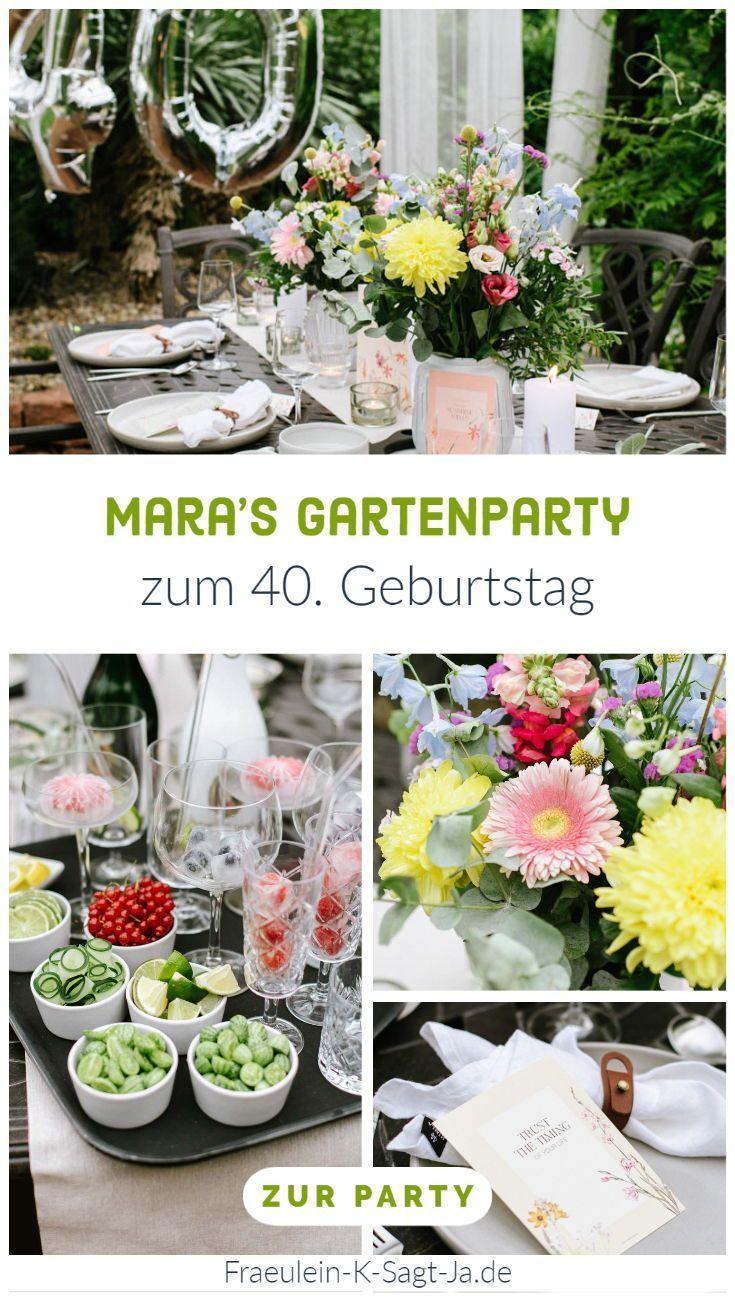 Gartenparty Corona