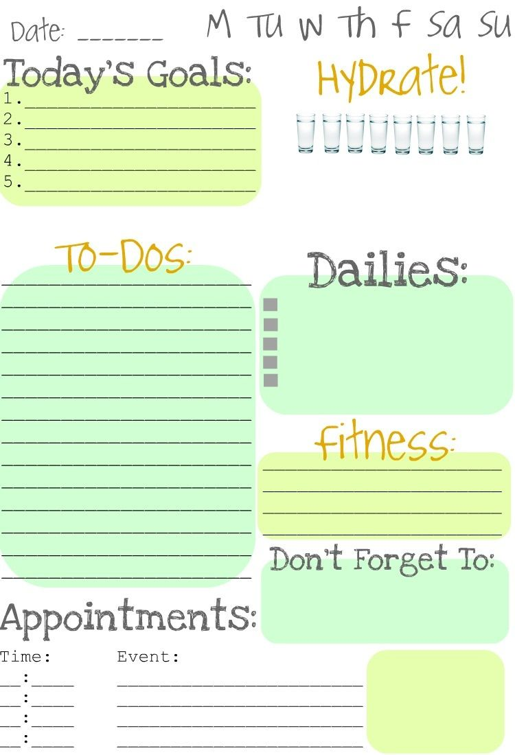 daily do list