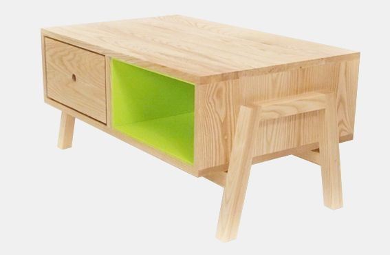 Charlie Crowther-Smith Furniture Designer - Ash Coffee Table