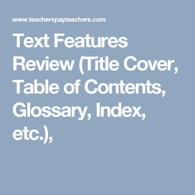 review title ideas