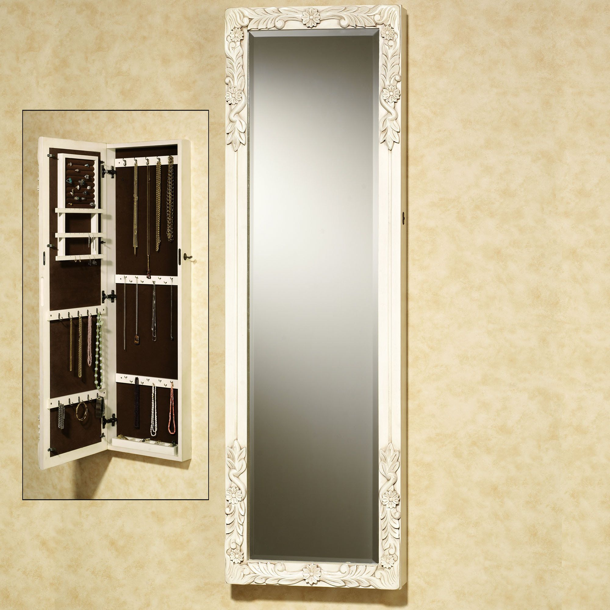 Viviana Jewelry Mirror A Mirror With A Built In Jewelry