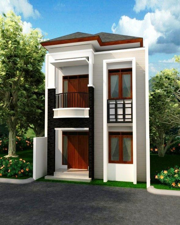 500 Koleksi Gambar Rumah Minimalis Sederhana Modern 2 Lantai Gratis Terbaik