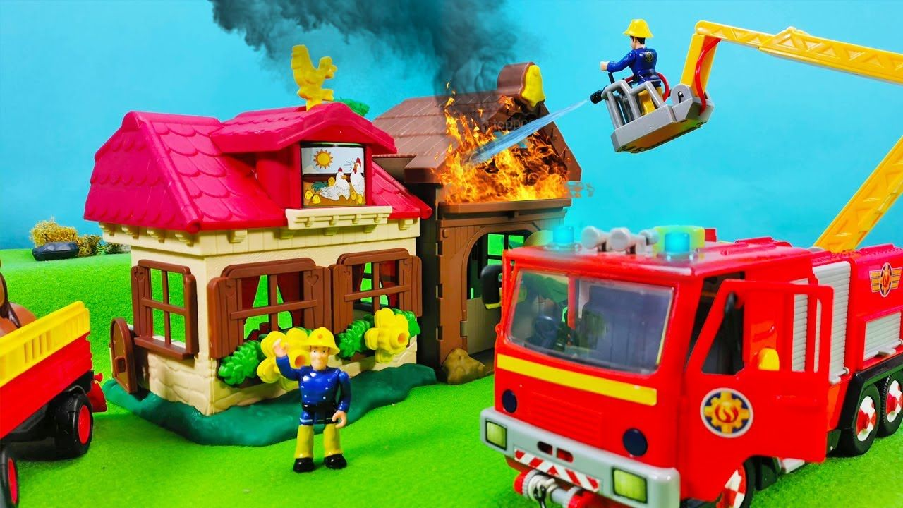 Feuerwehr Man Spielzeug
