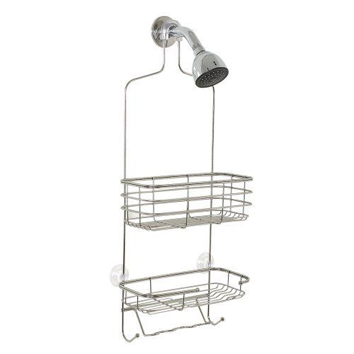 Zenith Products Over The Large Shower Caddy Stainless Steel By
