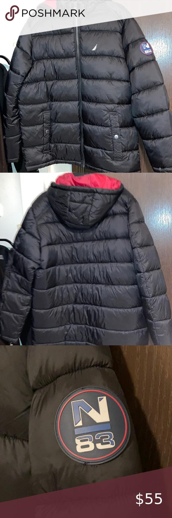 Nautica Coat Men S Coat Coats Jackets Women Vintage Jacket [ 1740 x 580 Pixel ]