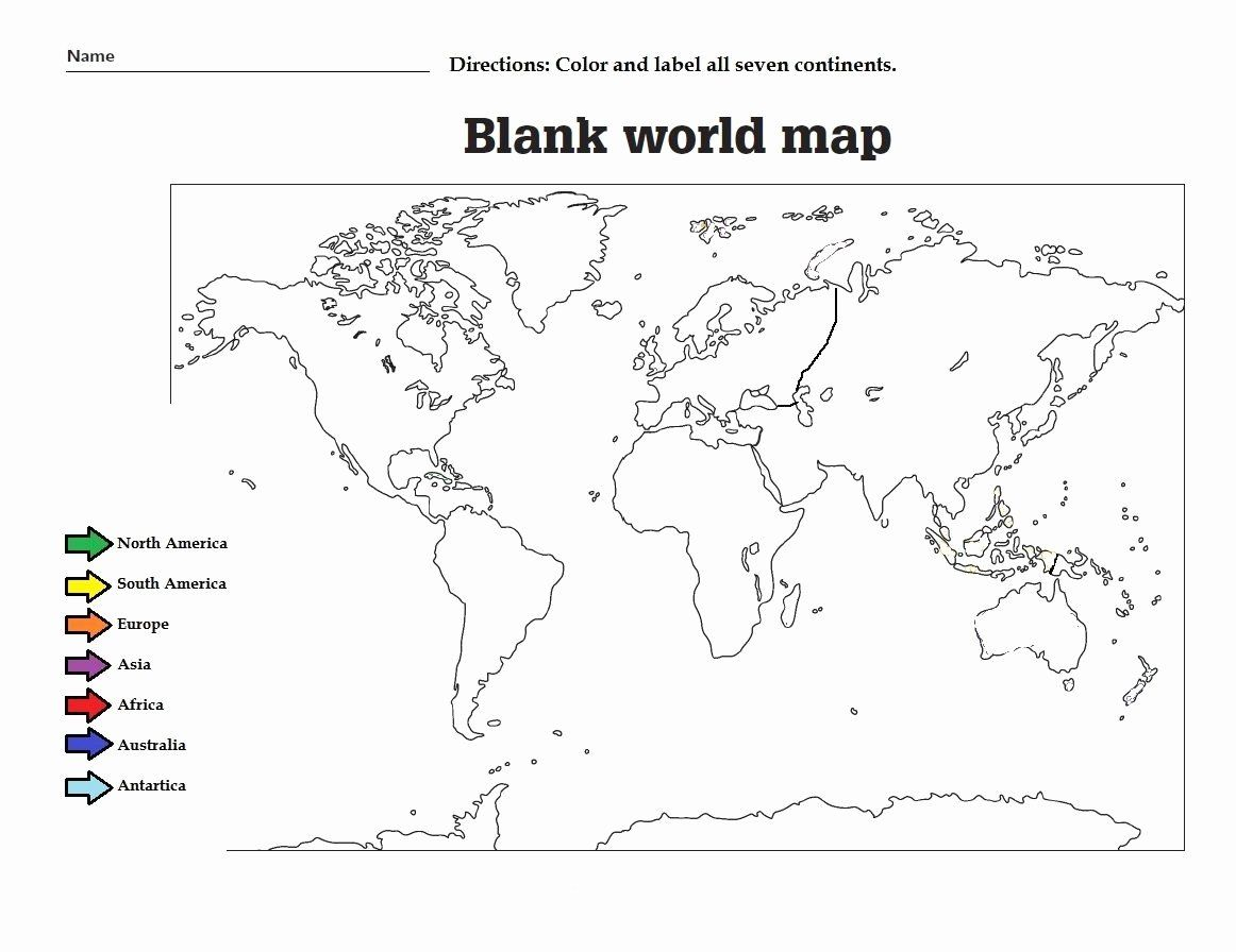 Africa Map Coloring Page With Images