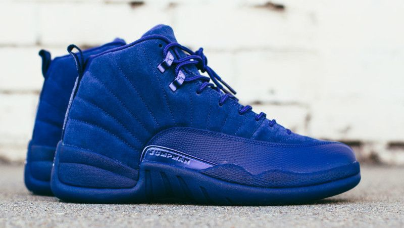 96619fceb579db The Air Jordan 12  Deep Royal Blue  is a premium version of Michael Jordan s  twelfth signature shoe. It features a mix of all-blue suede.
