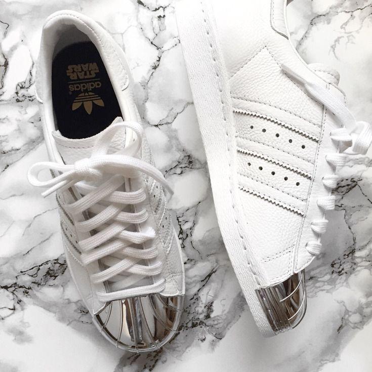 Adidas Superstar Silver Metal Toe