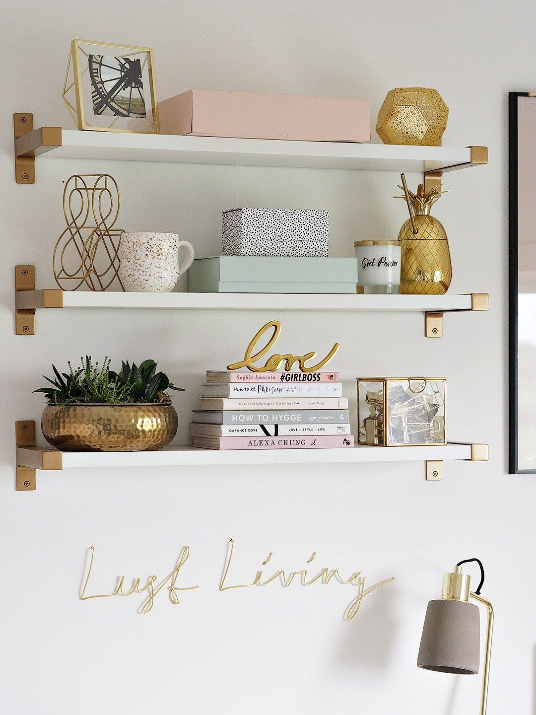 Shelves In Bedroom Room Decor
