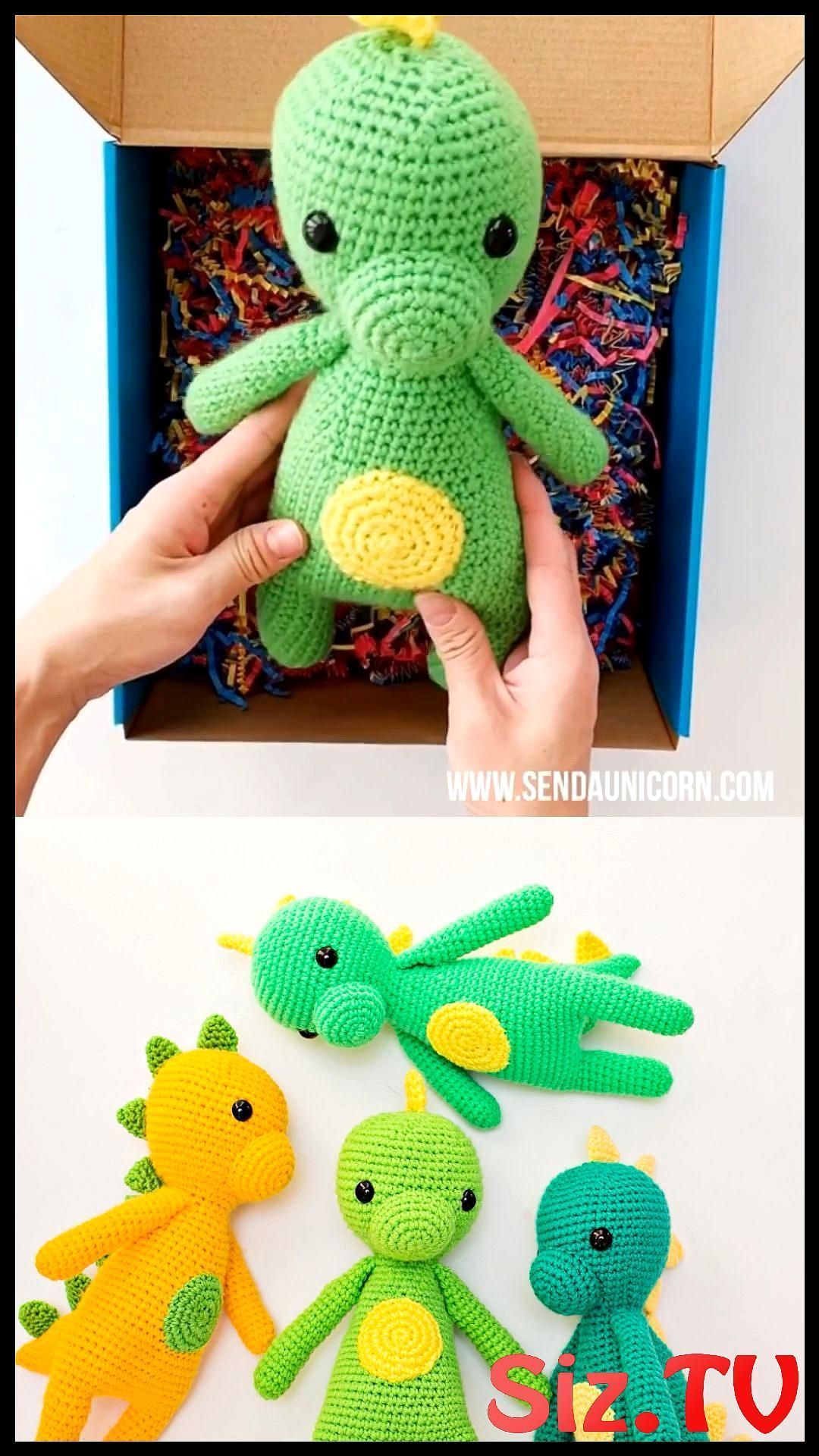 Send A Crochet Dinosaur Chomper Dinosaur Crochet Doll Make Sure To Follow Us On Facebook And Instagram And Use Hashtag Sendaunicorn Check Out Our Unicorn Boxes Here And Our Line Of Unicorn Tees Send A Crochet Dinosaur In The Mail Such A Cute Dinosaur Toy For Kids Handmade Dinosaur Crochet Toy Pattern #amigurumibonecavideos #send #crochet #dinosaur #chomper #doll #make #sure #follow #facebook #instagram #hashtag #sendaunicorn #check #unicorn #boxes #here #line #tees #crochetdinosaurpatterns Send #crochetdinosaurpatterns