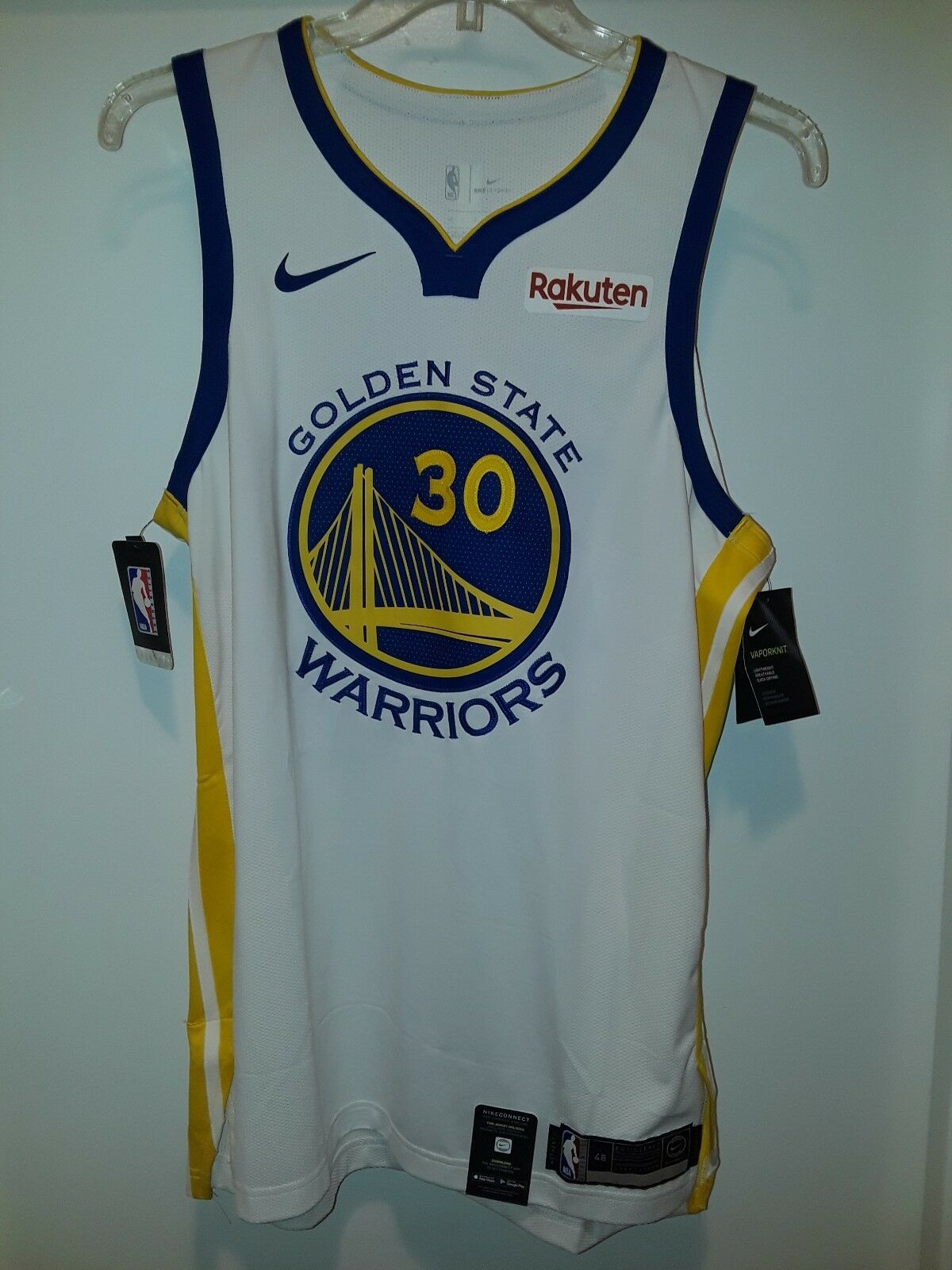 finest selection 2888f 099ae Limited Golden State Warriors Stephen Curry Authentic Nike ...