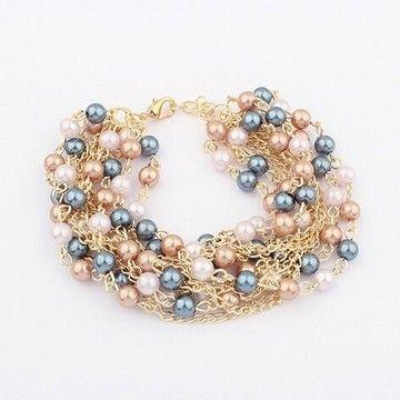 3008e2f5650d Pulseras - maxicollares Peru lima venta por mayor y menor de collares  aretes anillos relojes pulseras brazaletes en Fantasía Fina Acero Oro