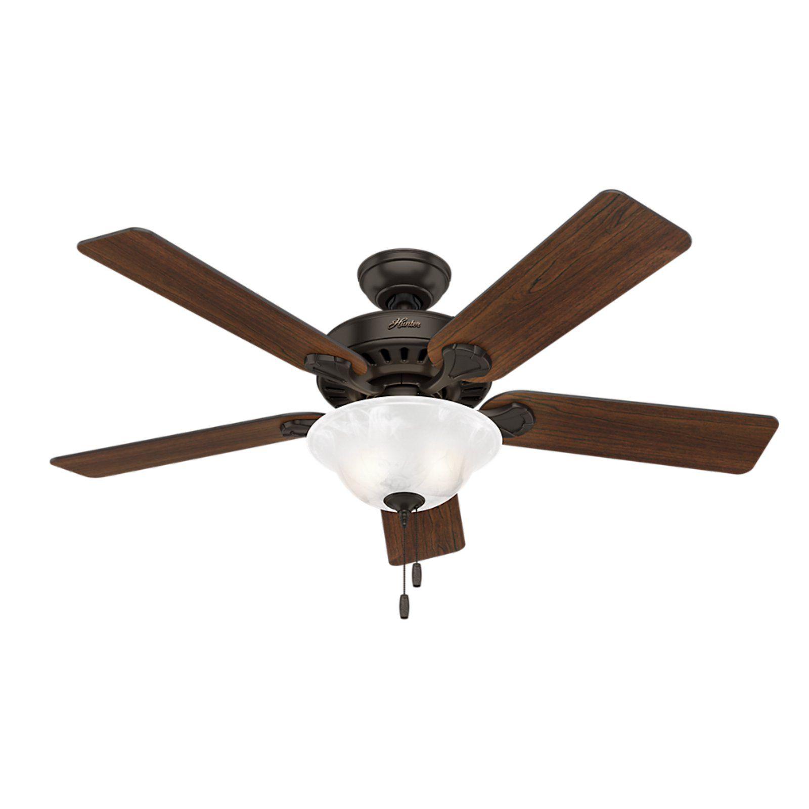 Hunter 52 In Buchanan Reversible Blade Indoor Ceiling Fan With