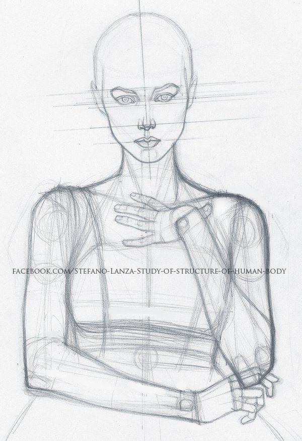 Anatomy study and drawings #pencildrawingtutorials