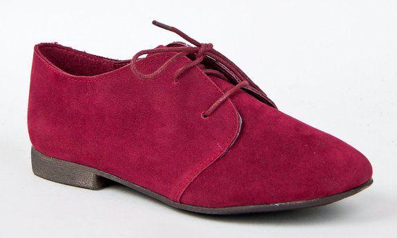 779bce8fec9c2 Amazon.com: Breckelle's SANDY-31 Basic Classic Lace Up Flat Oxford ...