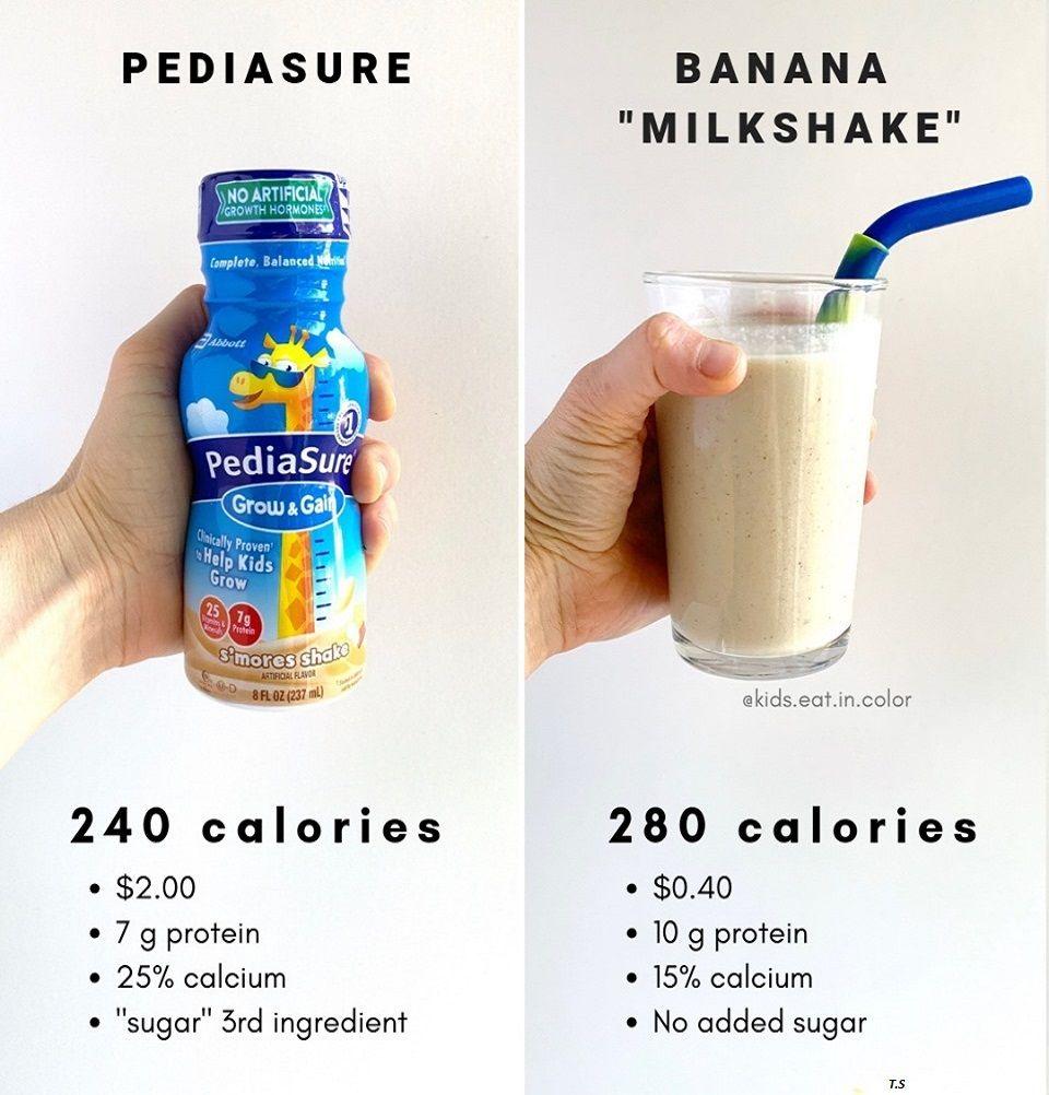 What Is A Healthy Alternative To Pediasure Pediasure Kids Nutrition Milkshake