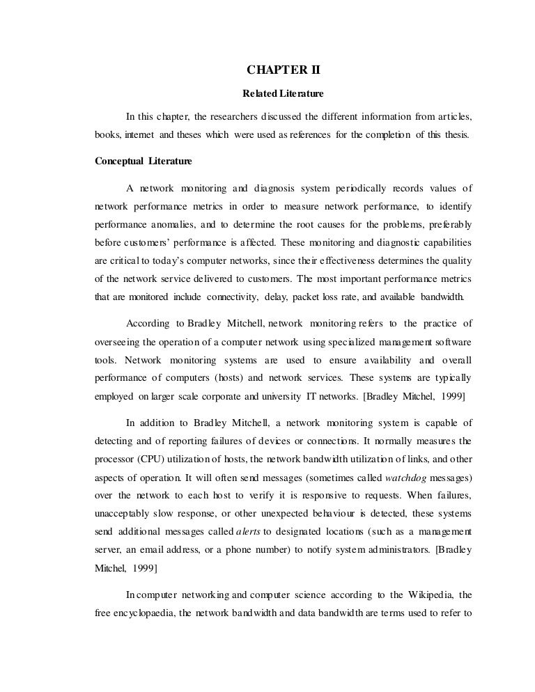 online reservation system thesis related literature
