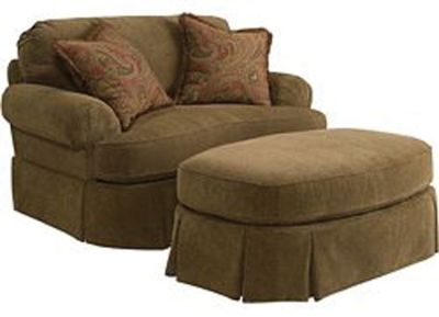 Broyhill Mckinney Chair And A Half Chair And A Half Chair And Ottoman Set Broyhill Furniture