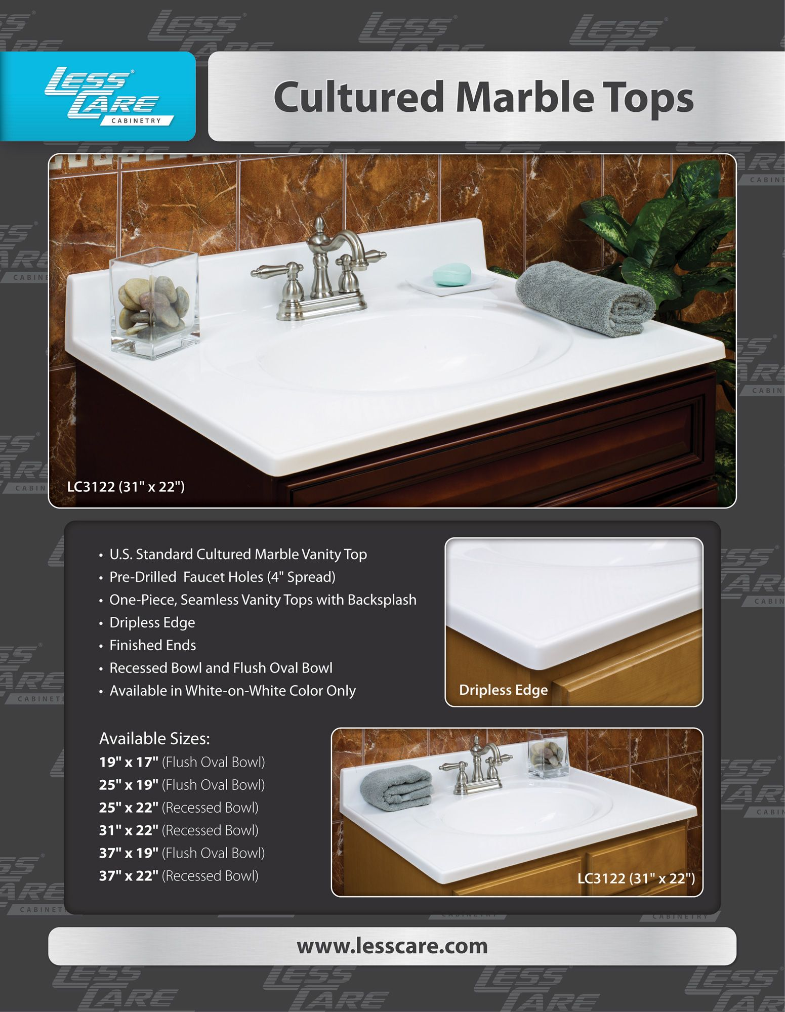 Pin On Cultured Marble Tops For Bathroom