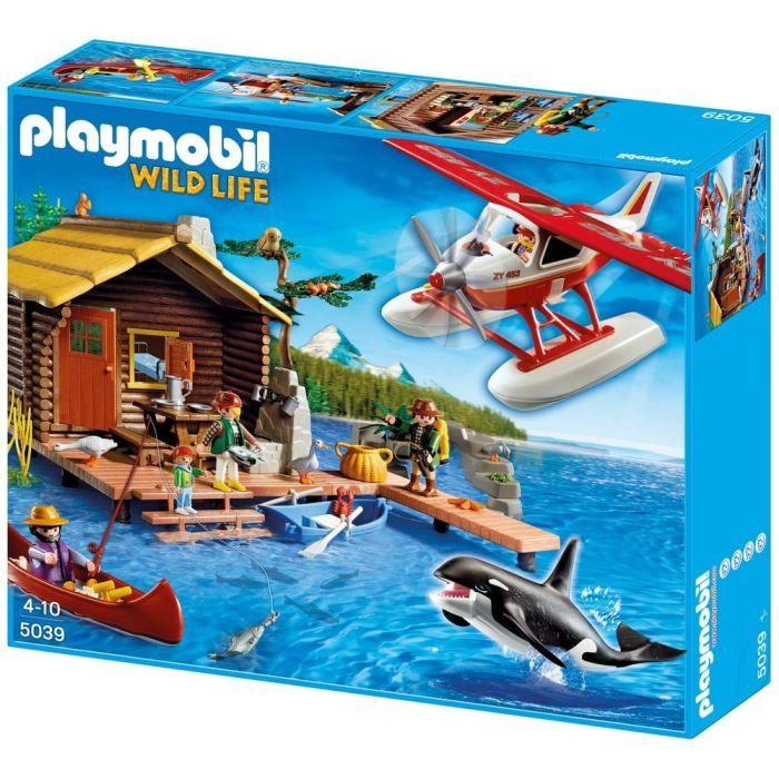 Playmobil  Cabane Du Pcheur Hydravion  Orque