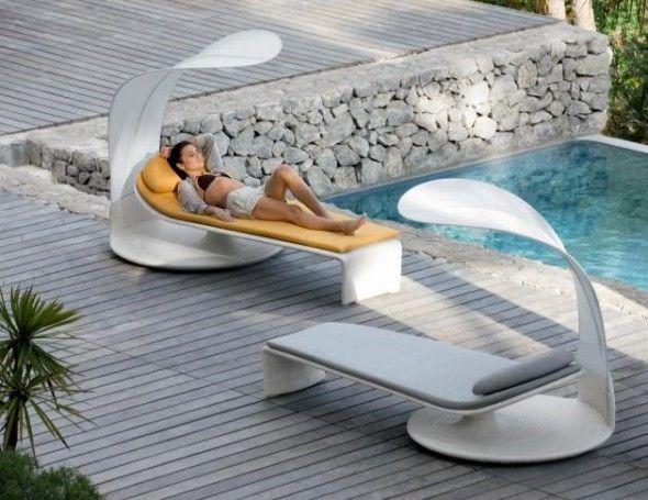 Muebles de jardín con un diseño futurista | Futurismo | Pinterest ...