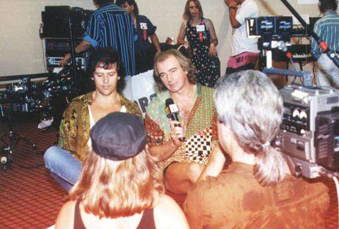Alan White with Trevor Rabin