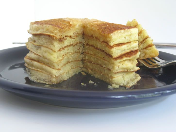 Cream of Wheat Griddlecakes! Cream of Wheat, that secret ingredient that takes these pancakes from good to great!