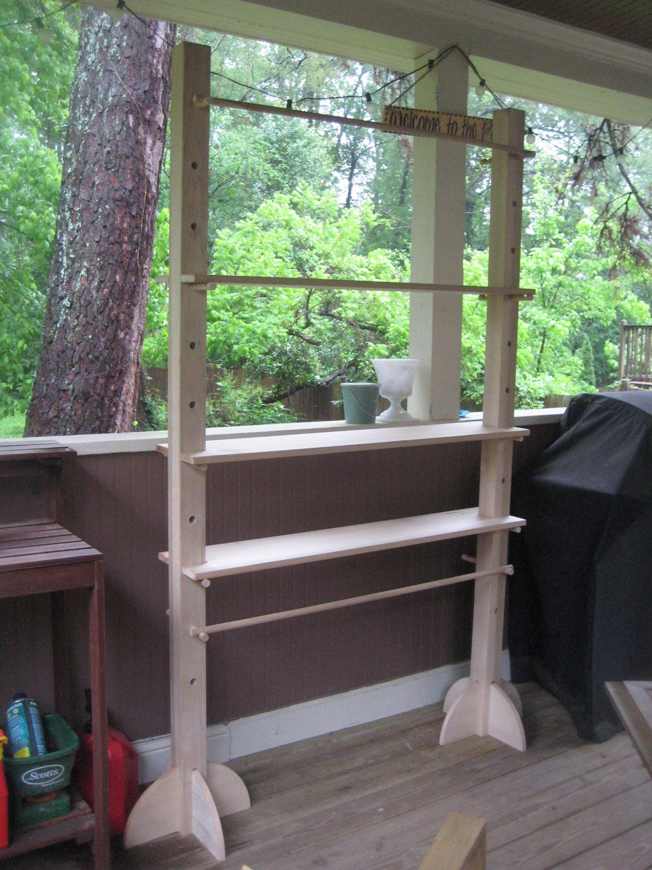 Craft Show Display Stand Shelf Rack For Craft Fair