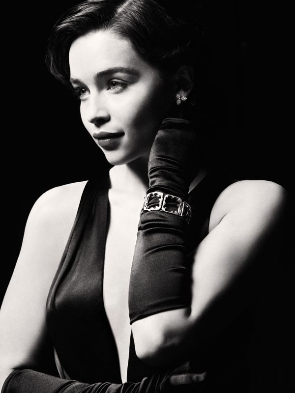 before she became mother of dragons --- Breakfast at Tiffanys with Emilia Clark | by Jason Bell