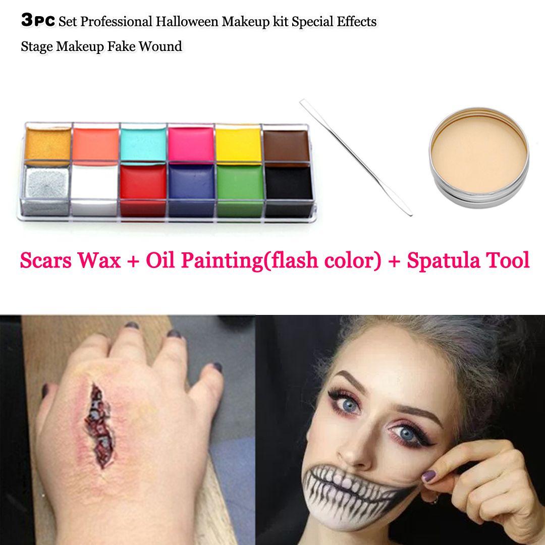 face paint joker Professional halloween makeup