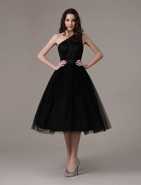 Black Prom Dresses 2021 Short Cocktail Dress Laley Cuoco ...