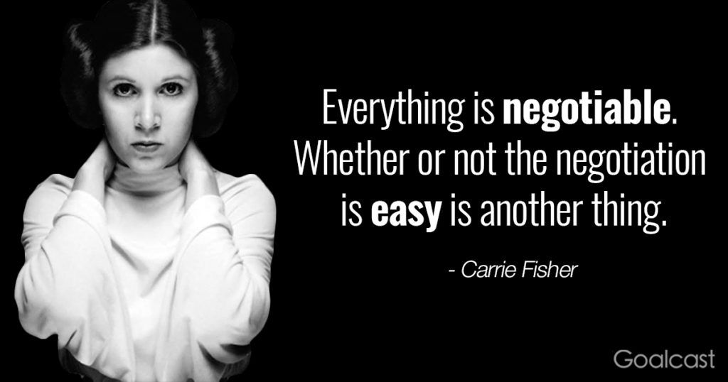 20 Carrie Fisher Quotes to Help you Embrace your True Self