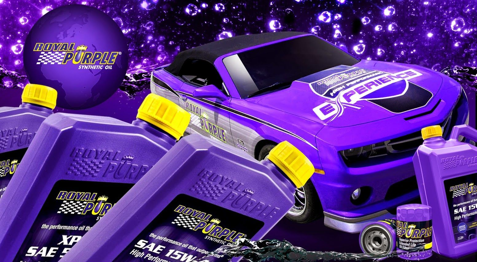 Royal Purple products are here to show the unlimited power!