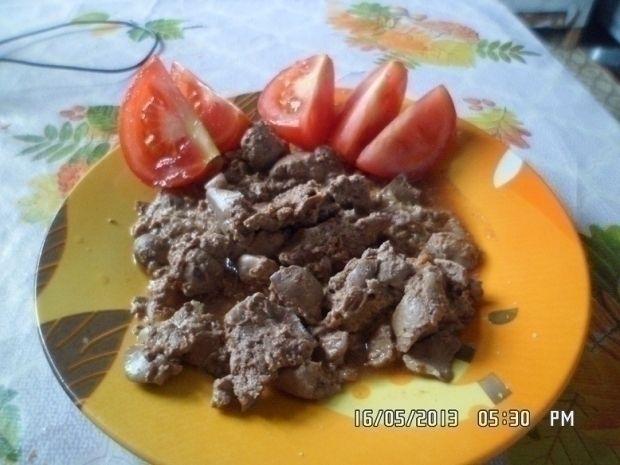 Печень Говяжья Рецепты При Диете 5. Диетическая говяжья печень, тушеная в сковороде