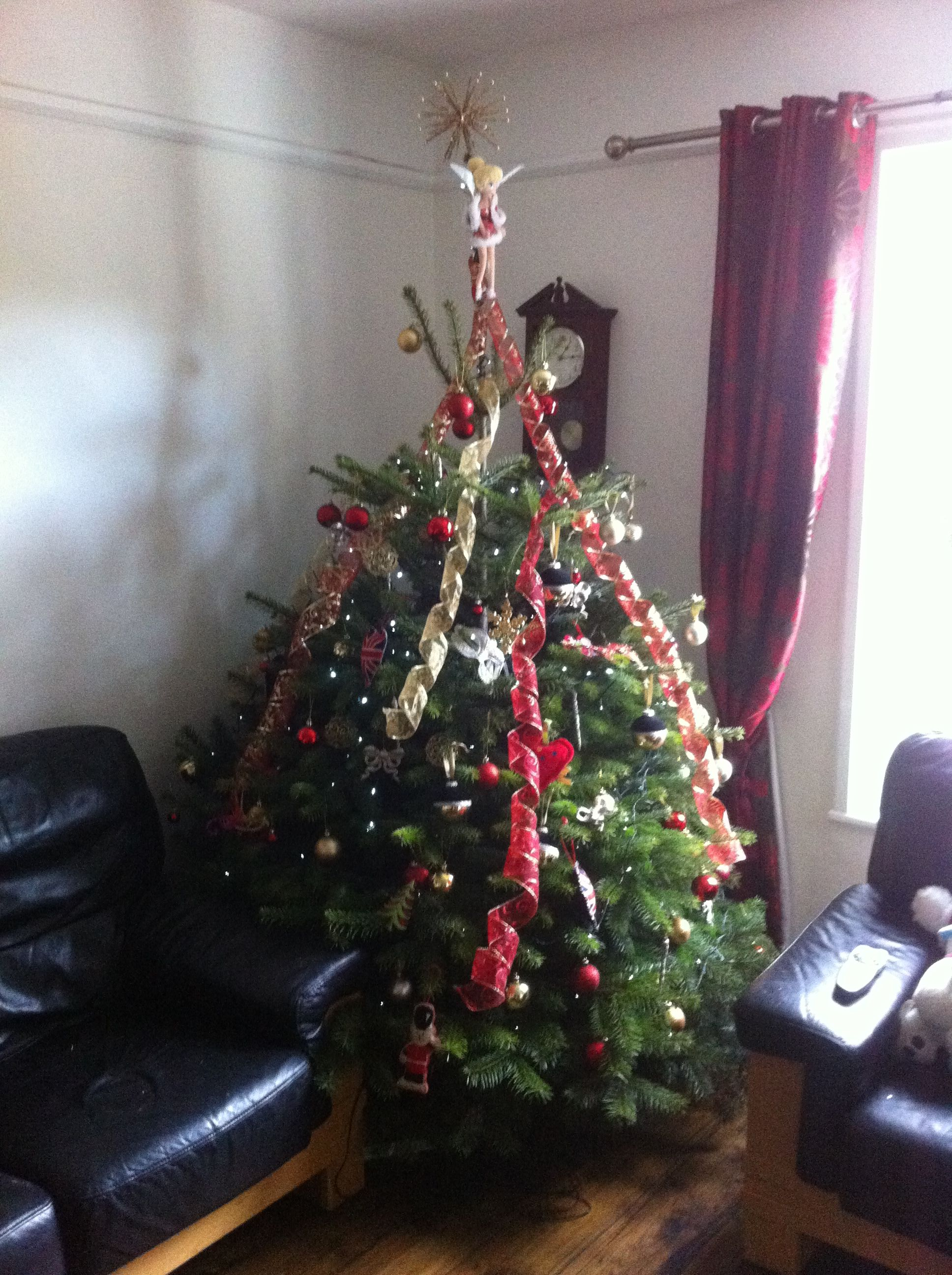 Our Christmas tree, December 2013!
