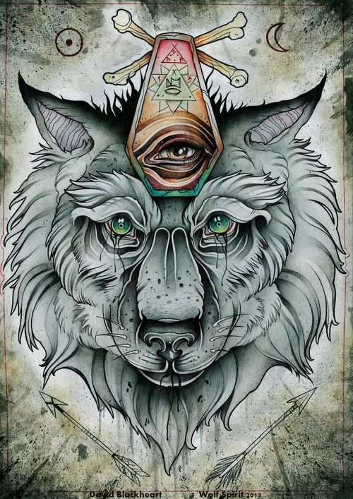 crying wolf tattoo , all seeing eye | Augen tattoos, Flash ...