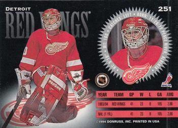 1994-95 Donruss # 251 Chris Osgood | Database delle carte collezionabili