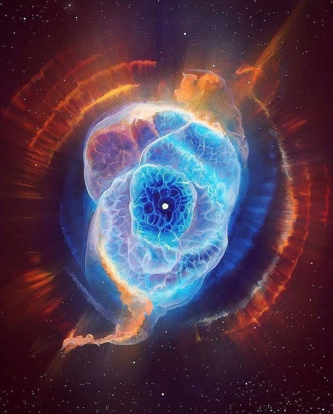 Cat S Eye Nebula Ngc 6543 A Bright Planetary Nebula Hubble Images Nebula Nebula Wallpaper
