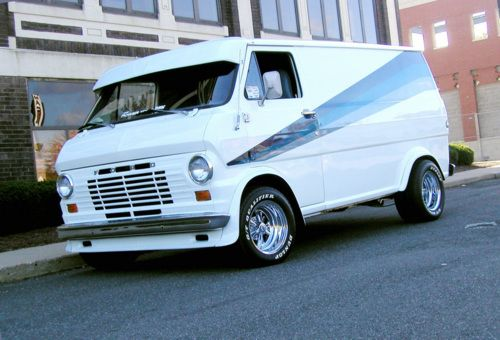 Retro Van Ford Van Custom Vans Cool Vans