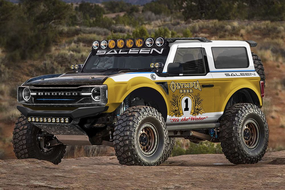 Saleen Turns Ford's 2021 Bronco Into A FullyRuggedized
