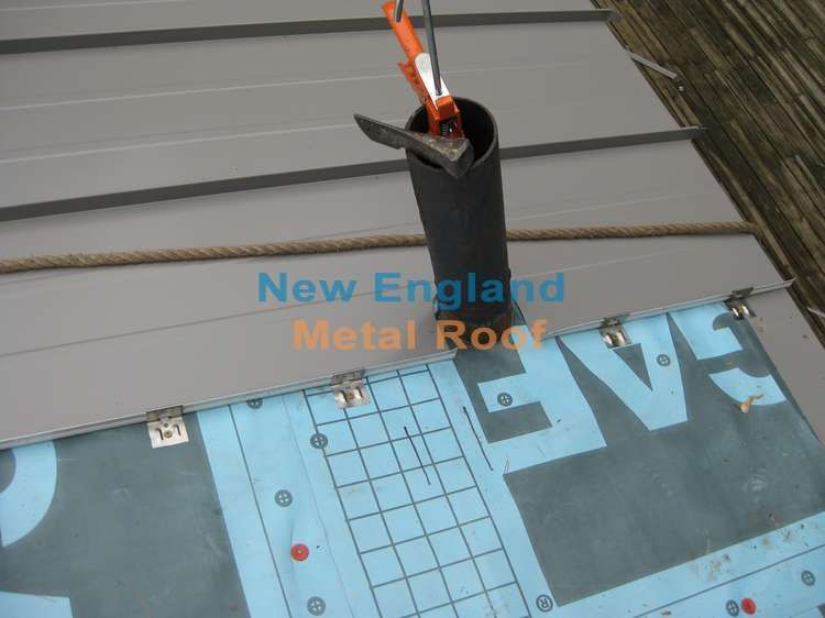 How To Install A Metal Roof Publications By New England Metal Roof Metal Roof Best Solar Panels Solar Power Panels