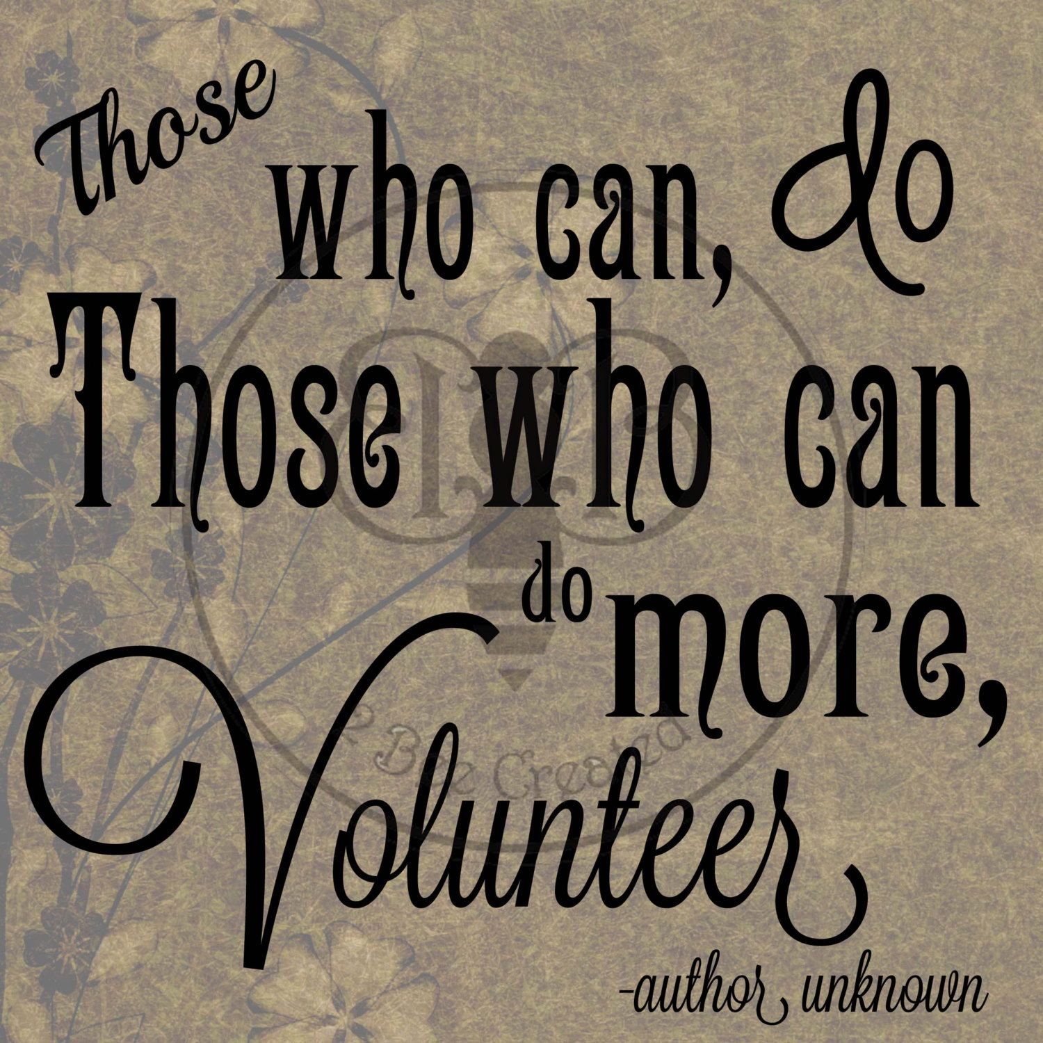 Volunteer Appreciation Quotes Sayings Of Thanks For