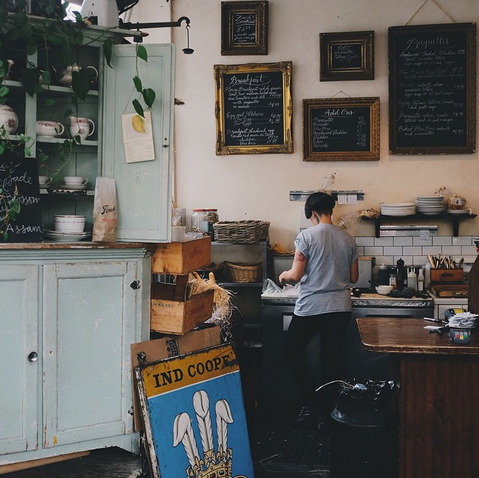 Finch's Tea + Coffee House, Vancouver