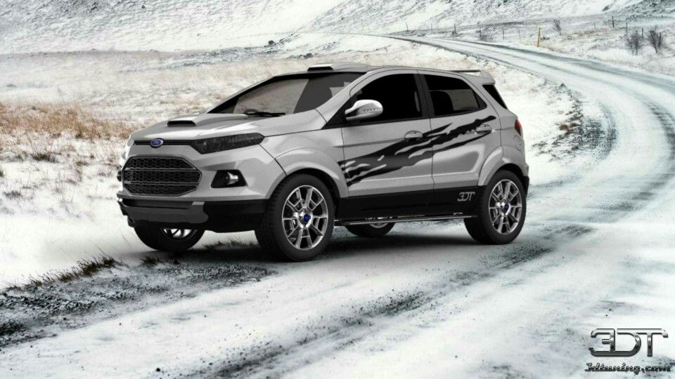 Custum Ecosport Ford Ecosport Car Graphics Ford