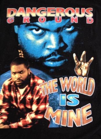 f1336560 Vintage 90's Rap T-Shirt - ICE CUBE   RAP TSHIRTS   Shirts, T shirt, Rap