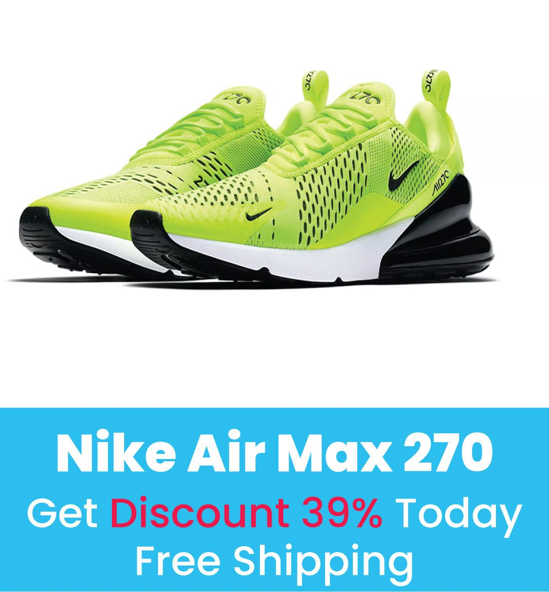 Shop the latest selection of Nike Air Max 270 Shoes at